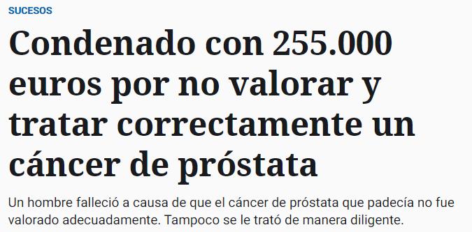 Noticia del español Rafael Martin Bueno